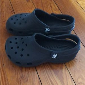 Crocs Toddler Little Kids 2 M 4 W Black